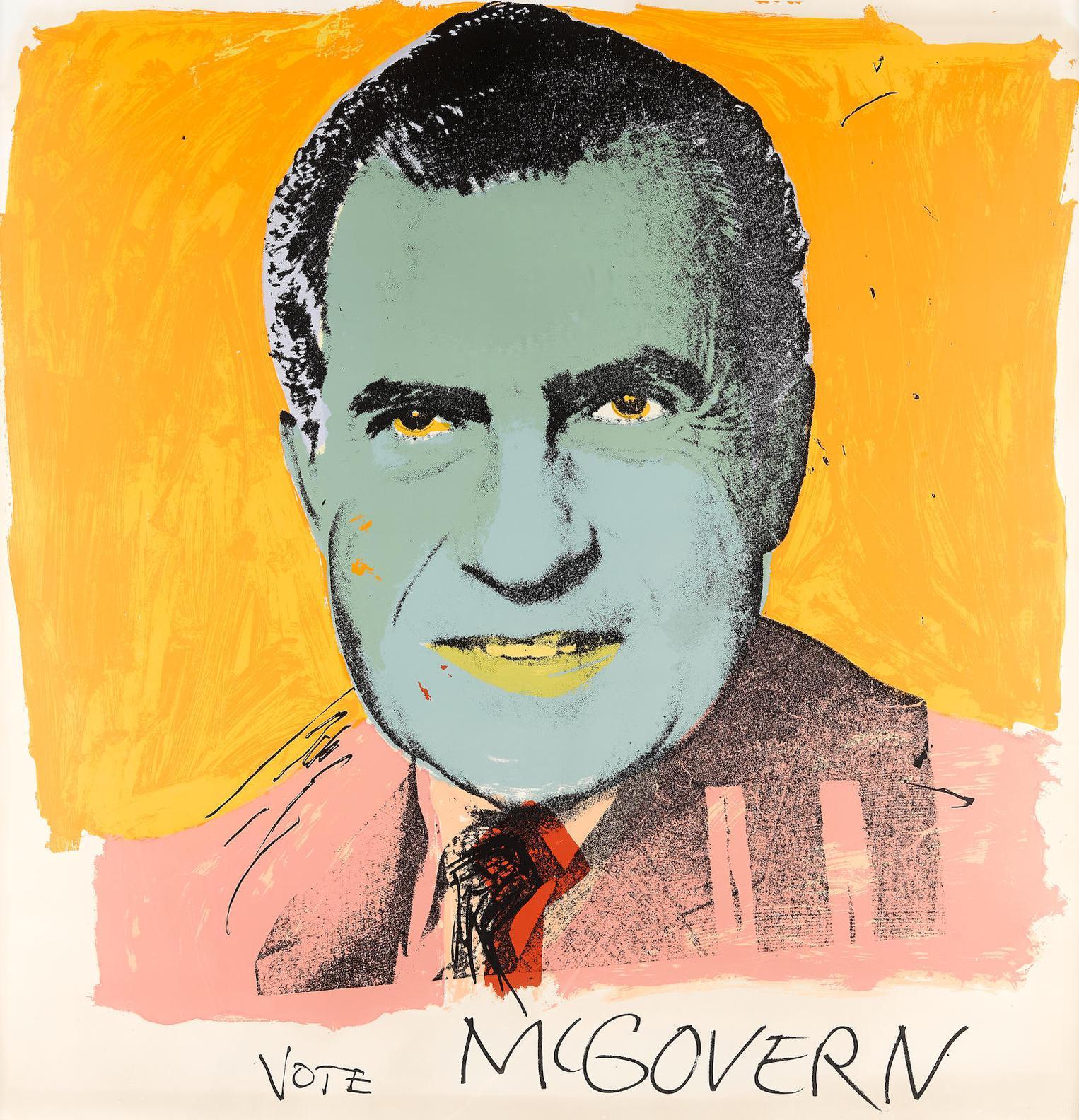 Andy Warhol-Vote Mcgovern (F./S. II 84)-1972