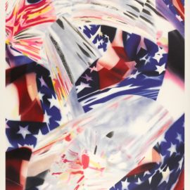 James Rosenquist-Stars And Stripes At The Speed Of Light-2004