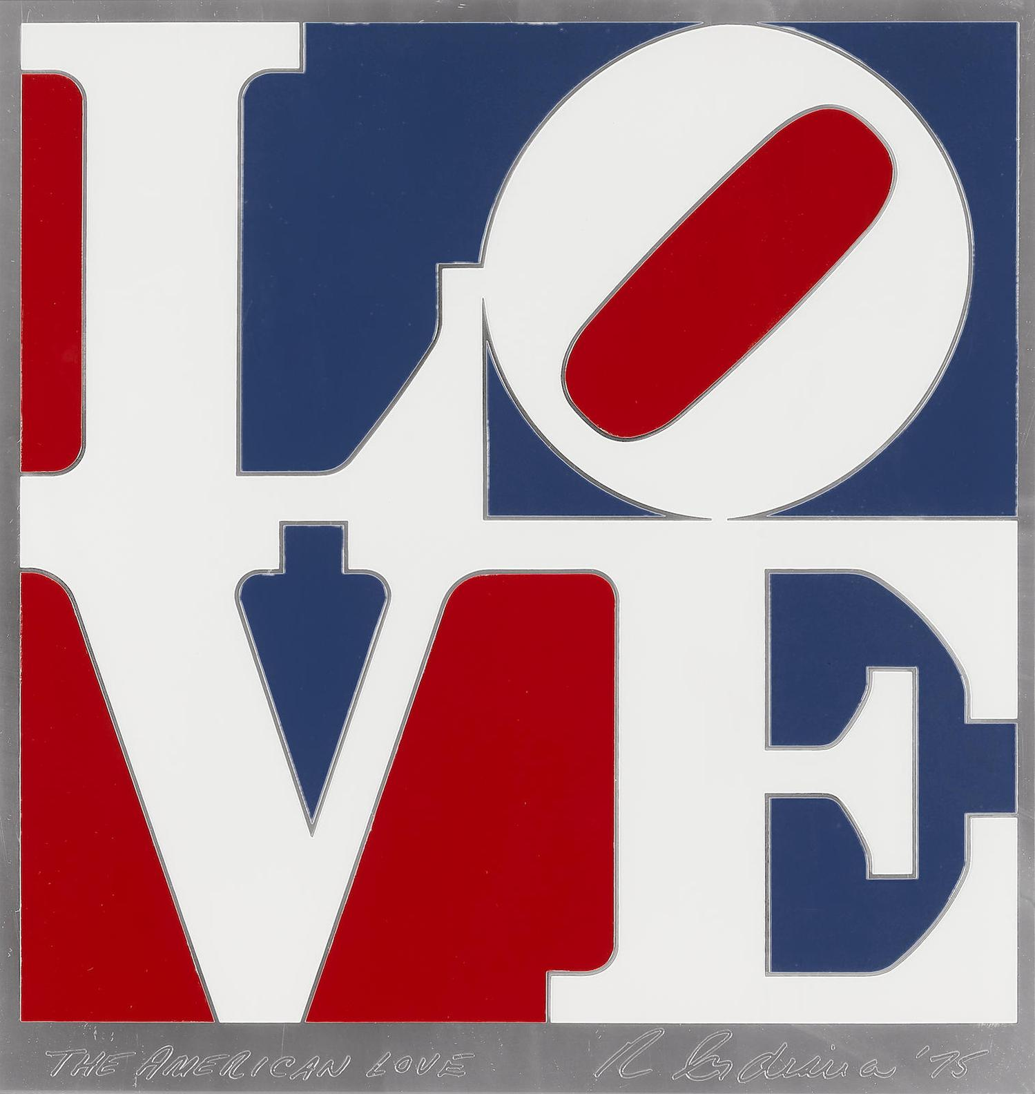Robert Indiana-The American Love-1975