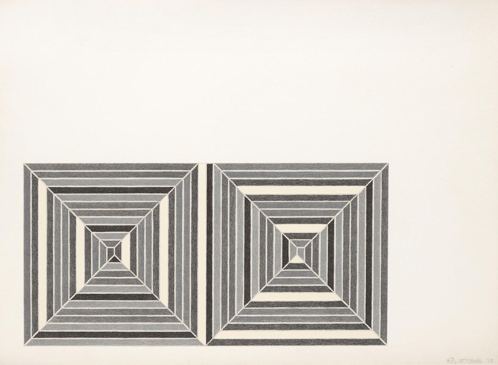 Frank Stella-Les Indes Galantes III (A. 88)-1973