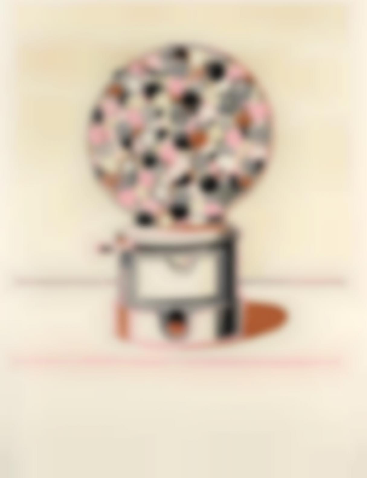 Wayne Thiebaud-Gumball Machine-1971