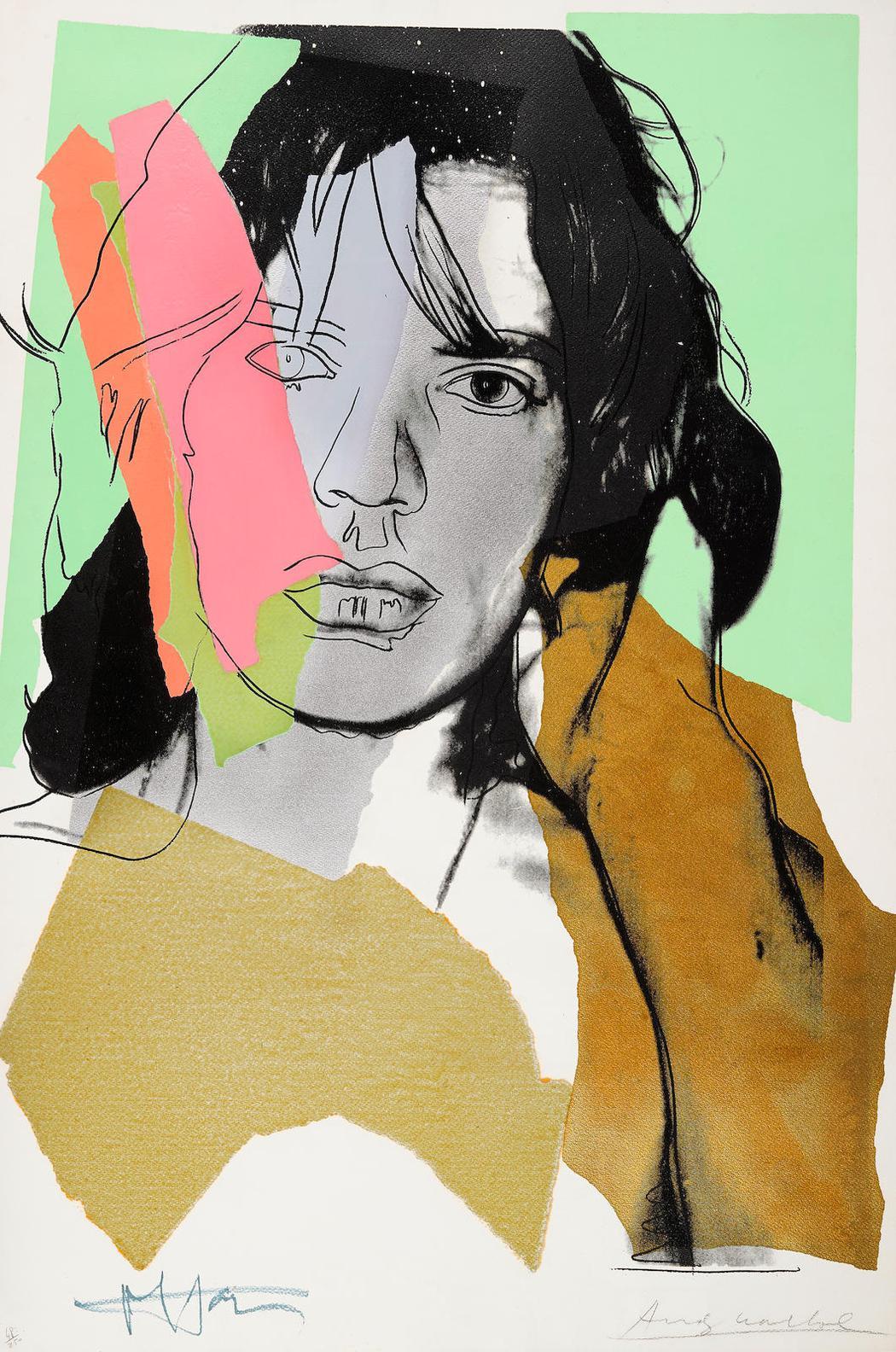Andy Warhol-Mick Jagger (F./S. II. 140)-1975