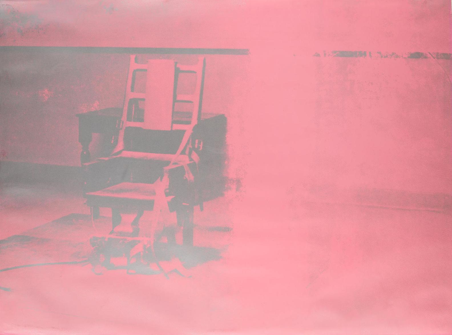 Andy Warhol-Electric Chair (F./S. II.75)-1971