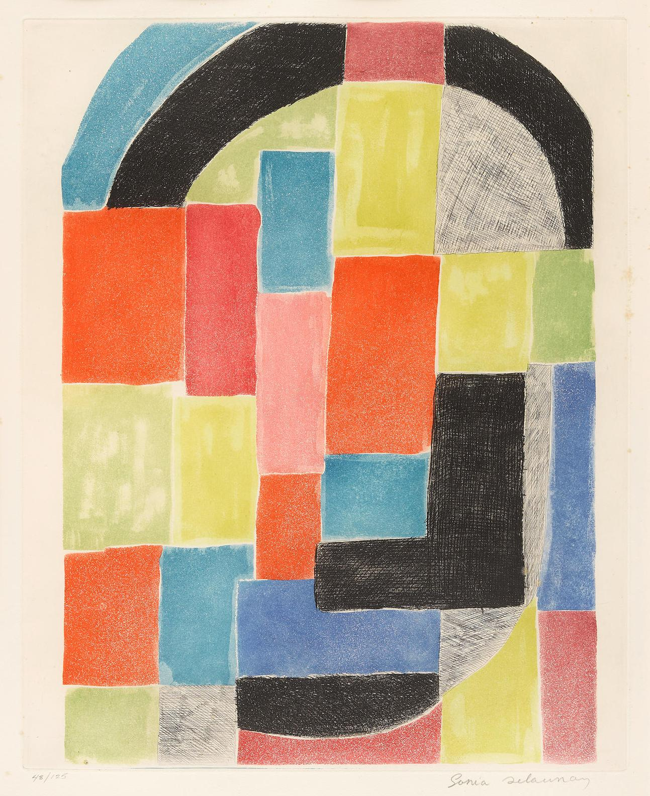 Sonia Delaunay-Composition-1970