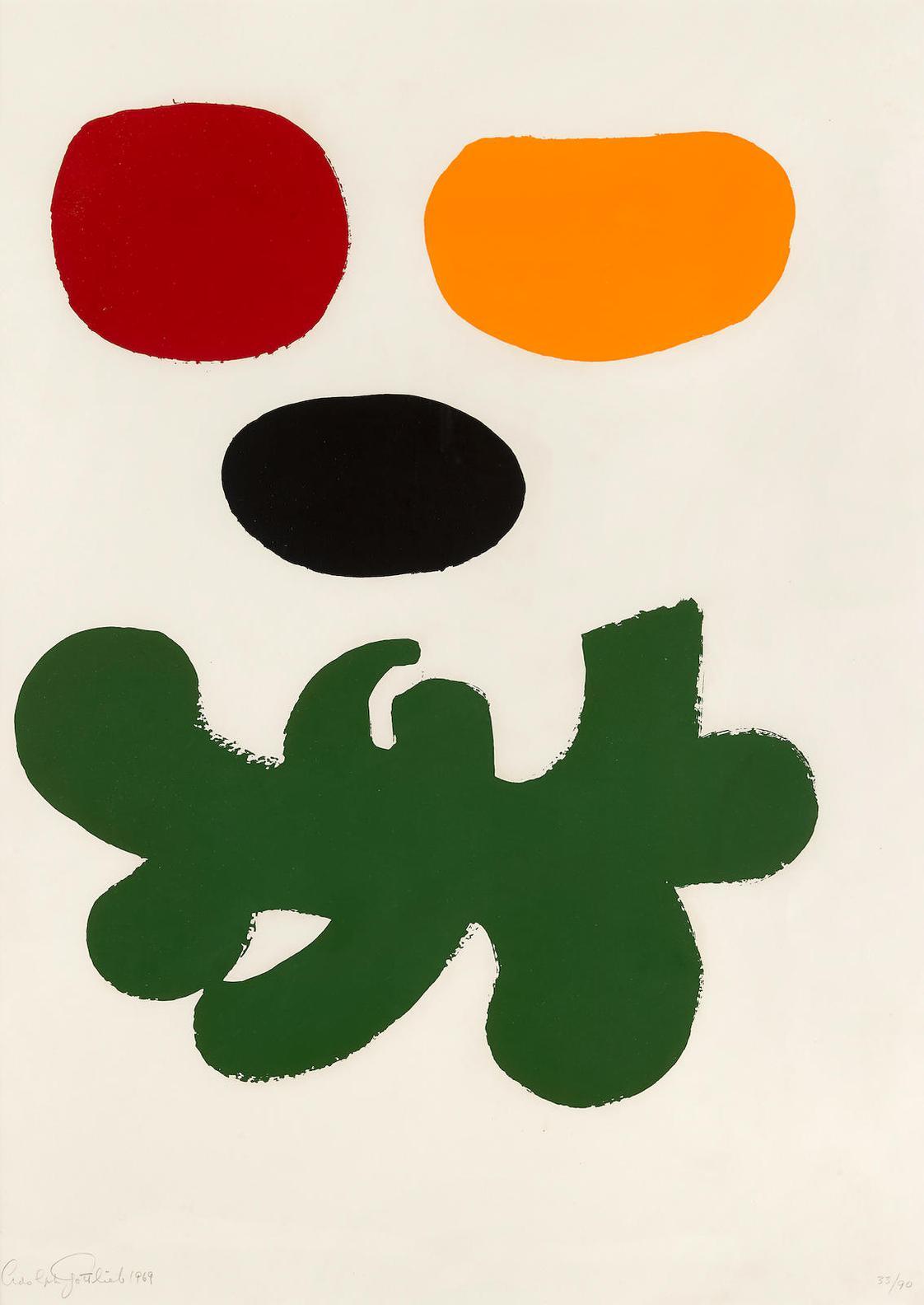 Adolph Gottlieb-Levitation (Associated American Artists 58)-1969