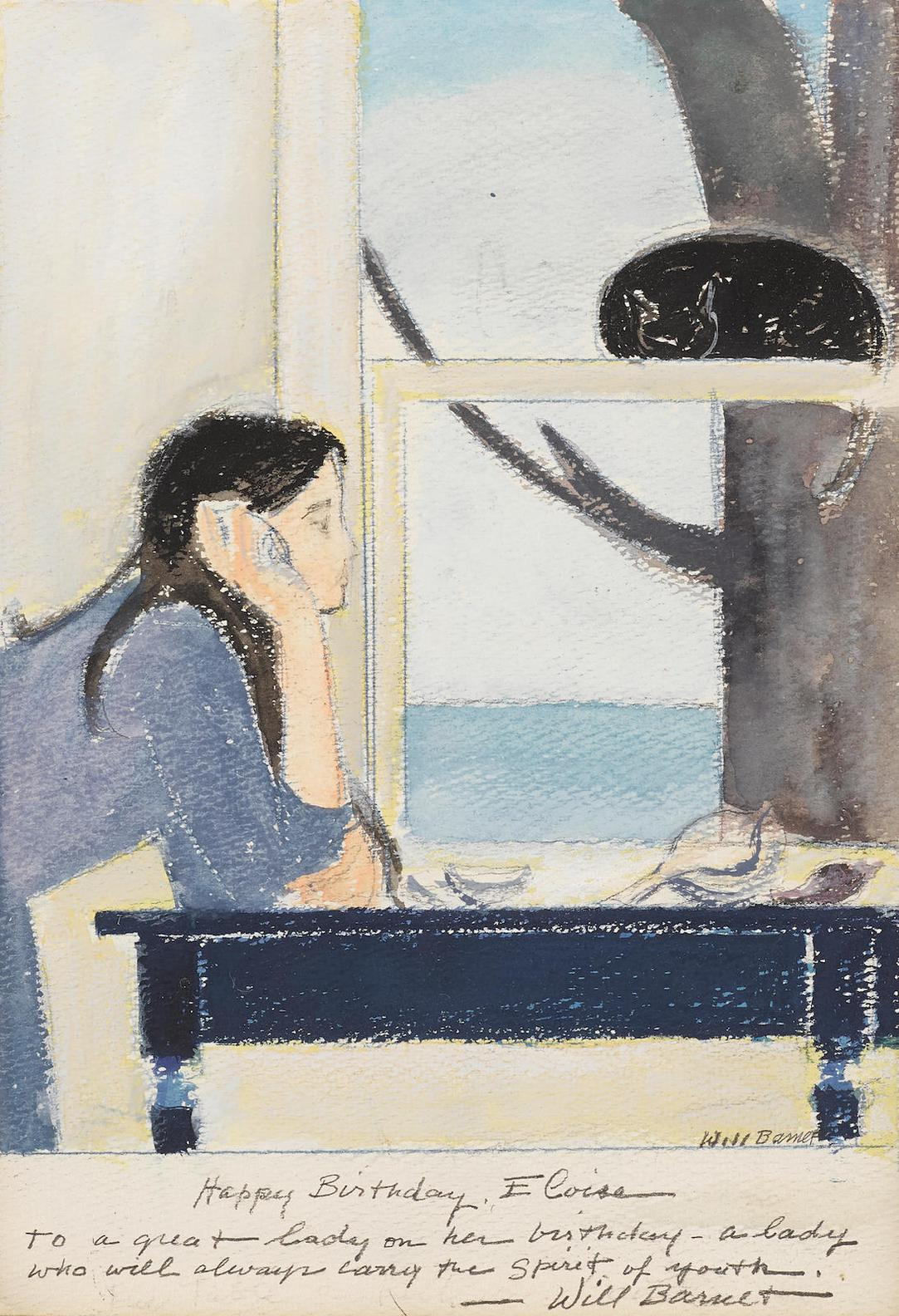 Will Barnet-Spirit Of Youth-1980