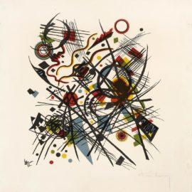 Wassily Kandinsky-Lithographie Fur Die Vierte Bauhausmappe (R. 162)-1922