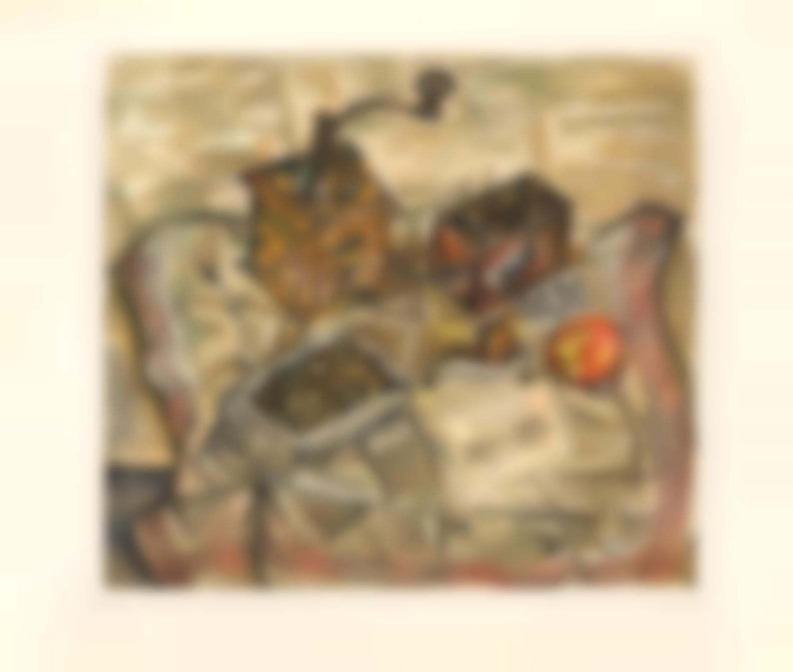 Joan Miro-After Joan Miro - Le Moulin A Cafe (M. 1701)-1954