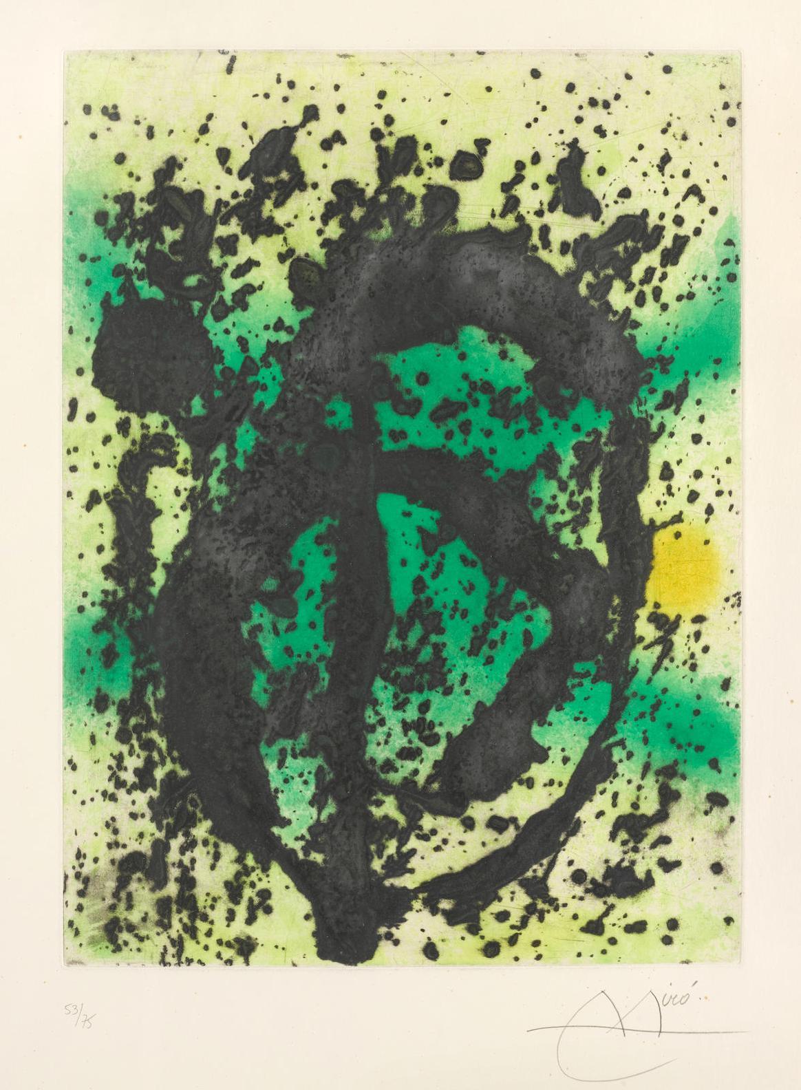 Joan Miro-Regne Vegetal (D. 462)-1968