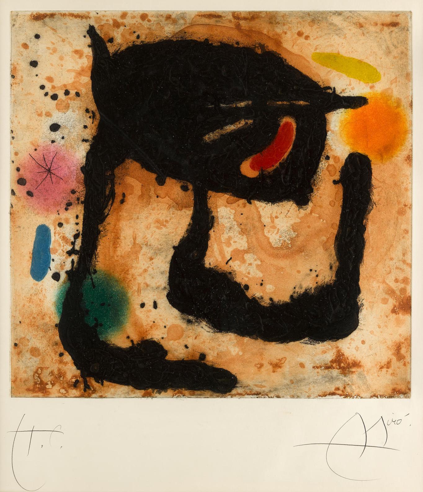 Joan Miro-Le Dandy (D. 462)-1969