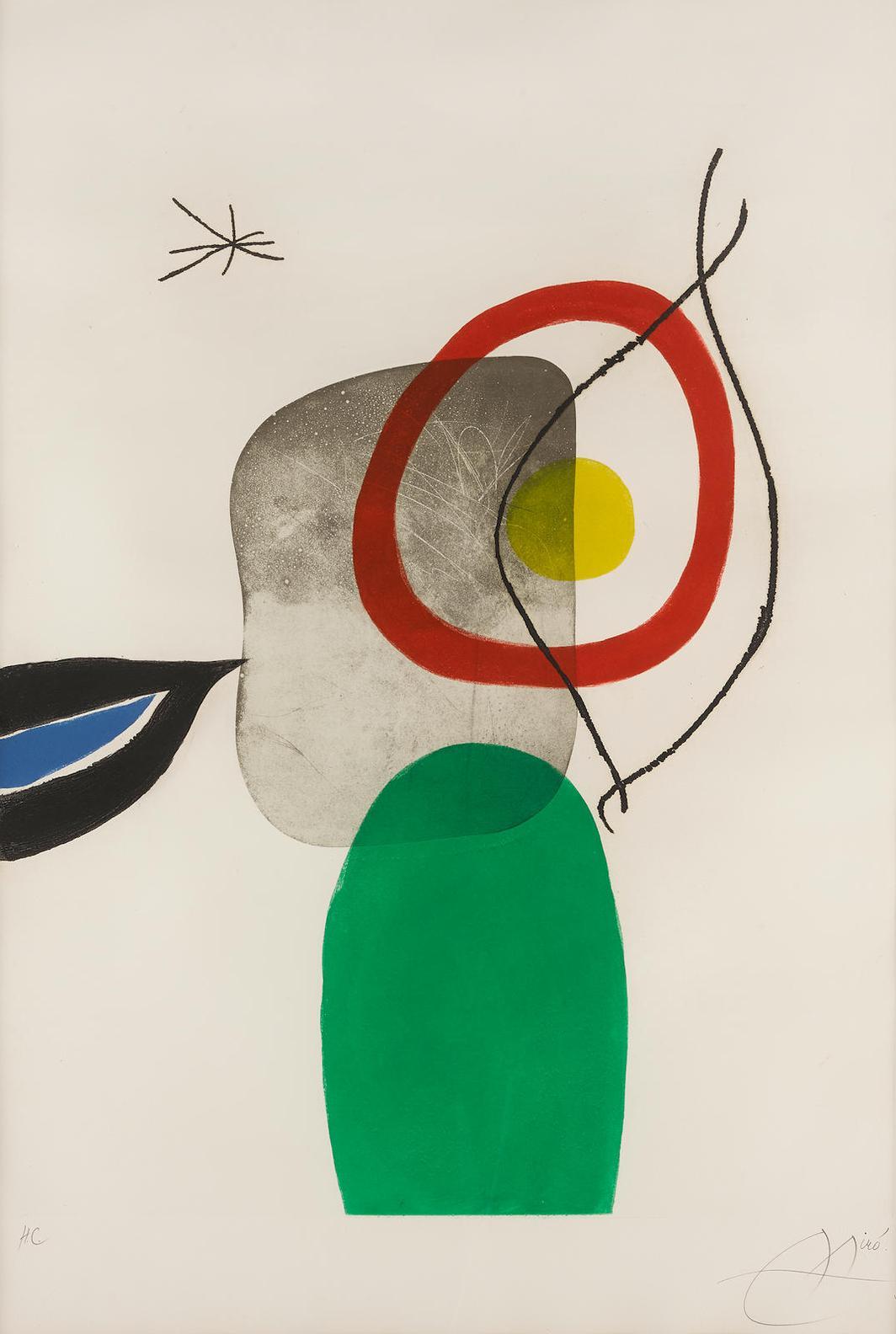 Joan Miro-Tir A Larc (D. 554)-1972
