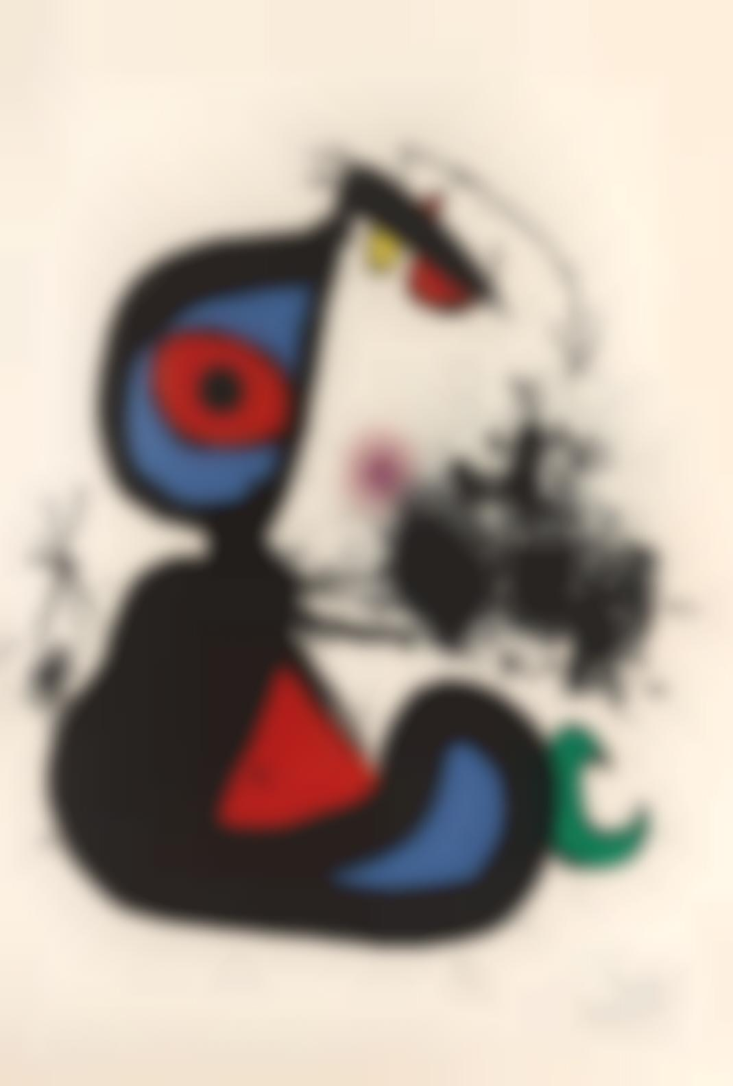 Joan Miro-Mangeur De Foudre II (M.900)-1973