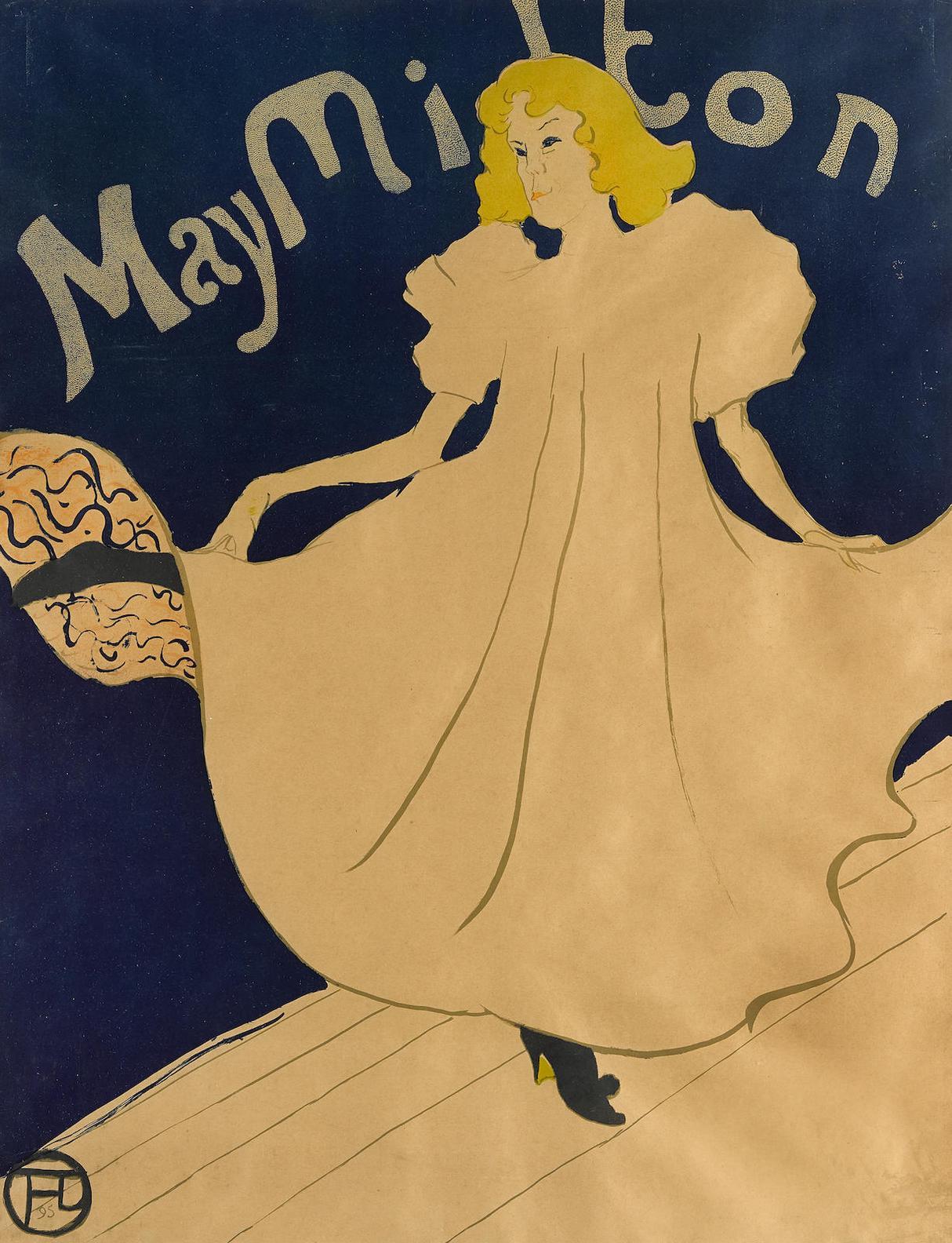 Henri de Toulouse-Lautrec-May Milton (W. 17; D. 356; Adr. 149)-1895