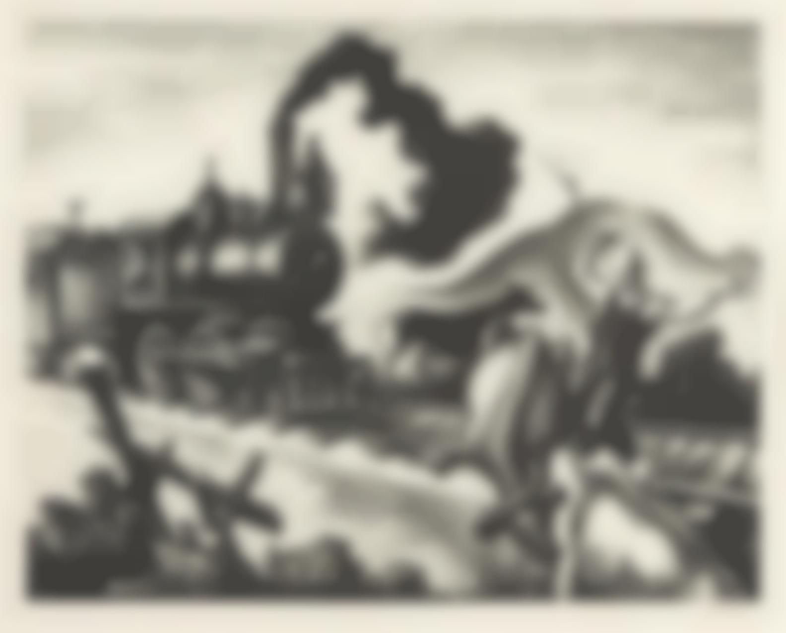 Thomas Hart Benton-Slow Train Through Arkansas (F.46)-1941