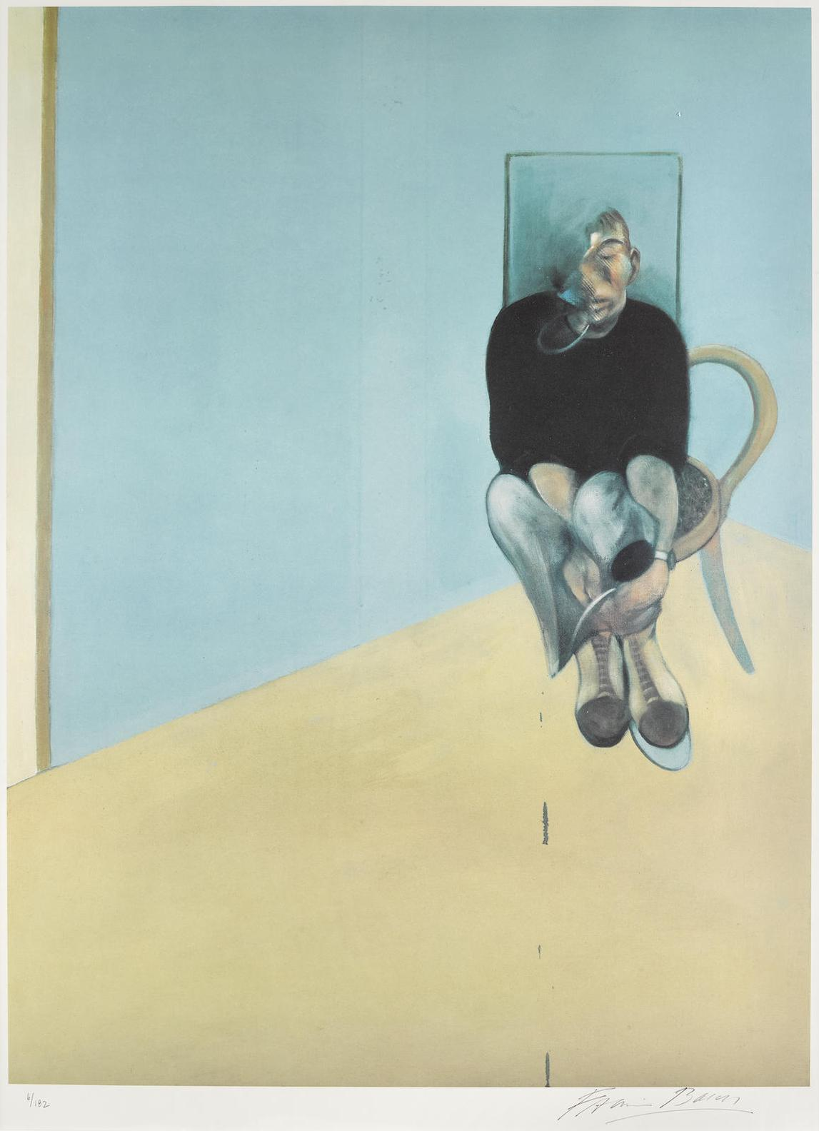 Francis Bacon-Study For Self Portrait (S. 35)-1982