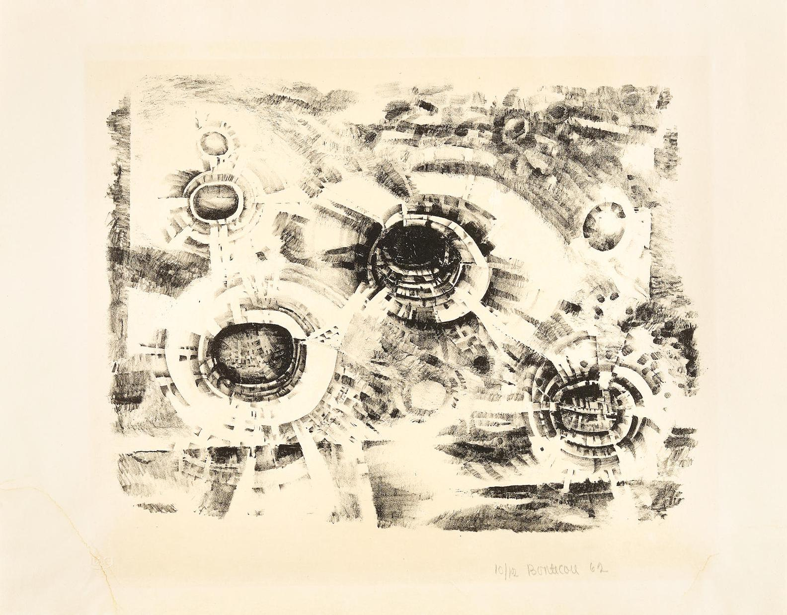 Lee Bontecou-Second Stone-1962
