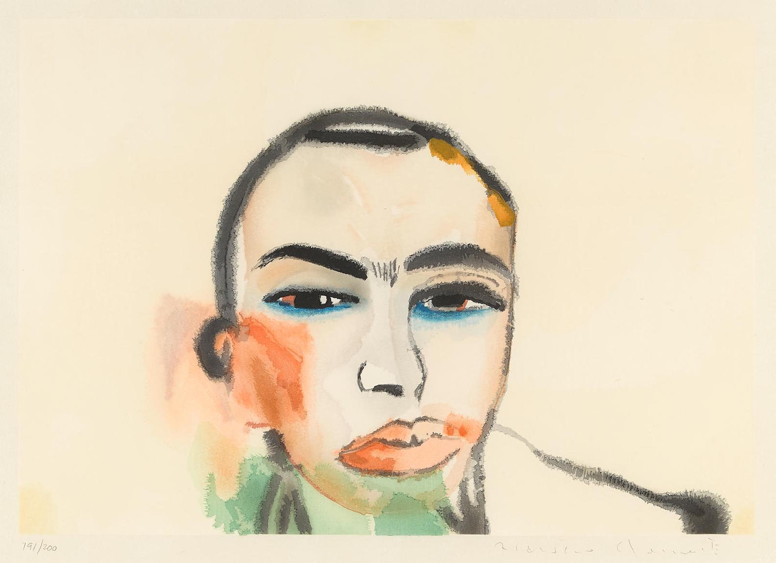 Francesco Clemente-Untitled-1984