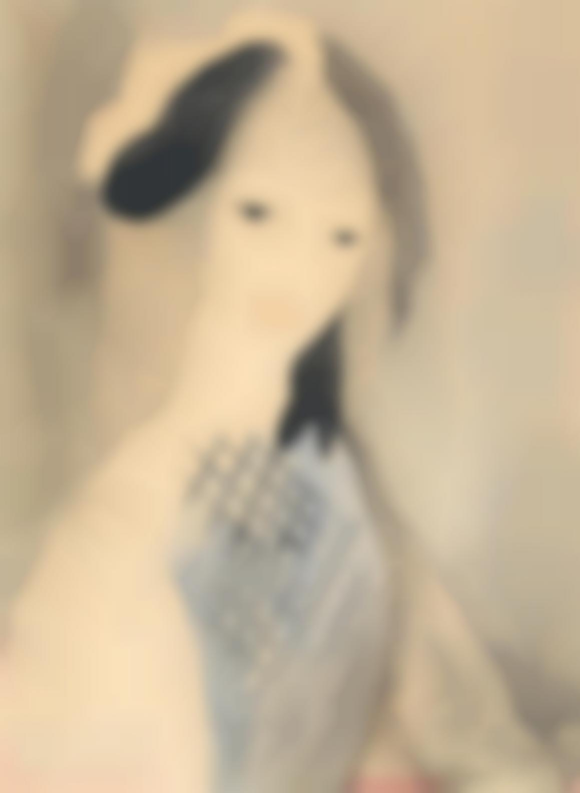 Marie Laurencin-Portrait De Jeune Fille-1925