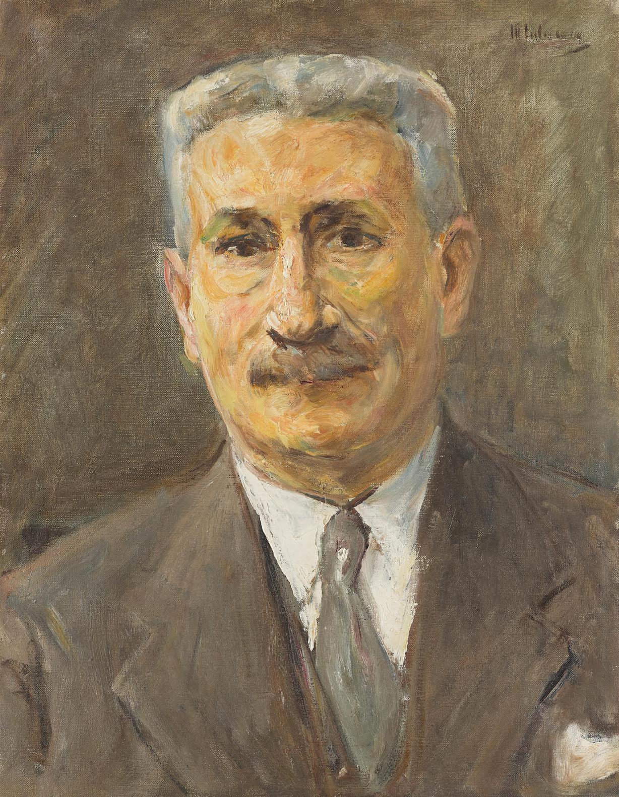 Max Liebermann-Bildnis Des Kaufmanns Robert Neumann-1925