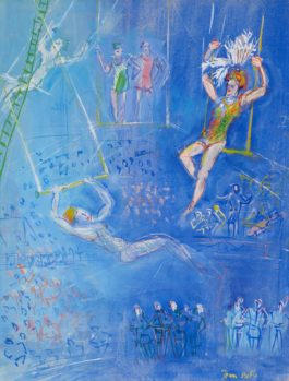 Jean Dufy-Les Trapezistes
