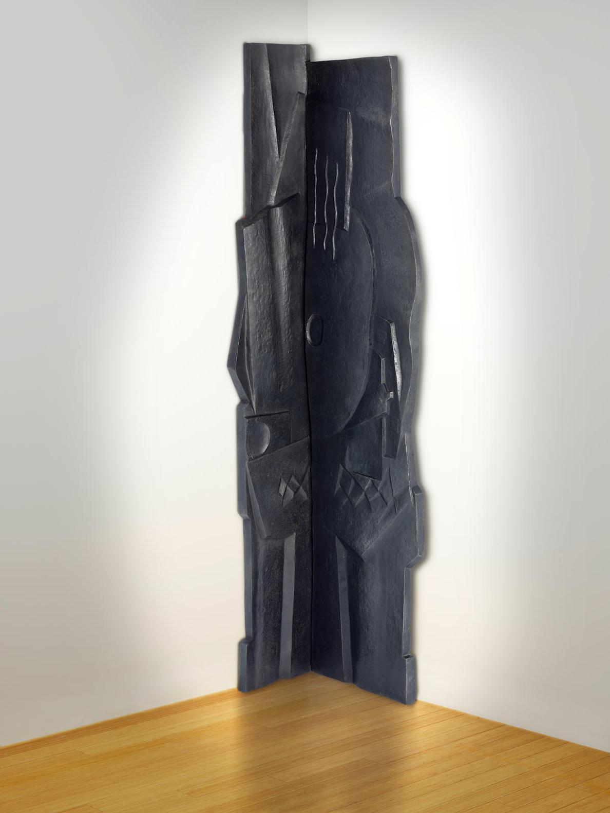Henri Laurens-Sans Titre (Guitare) Diptych-1926