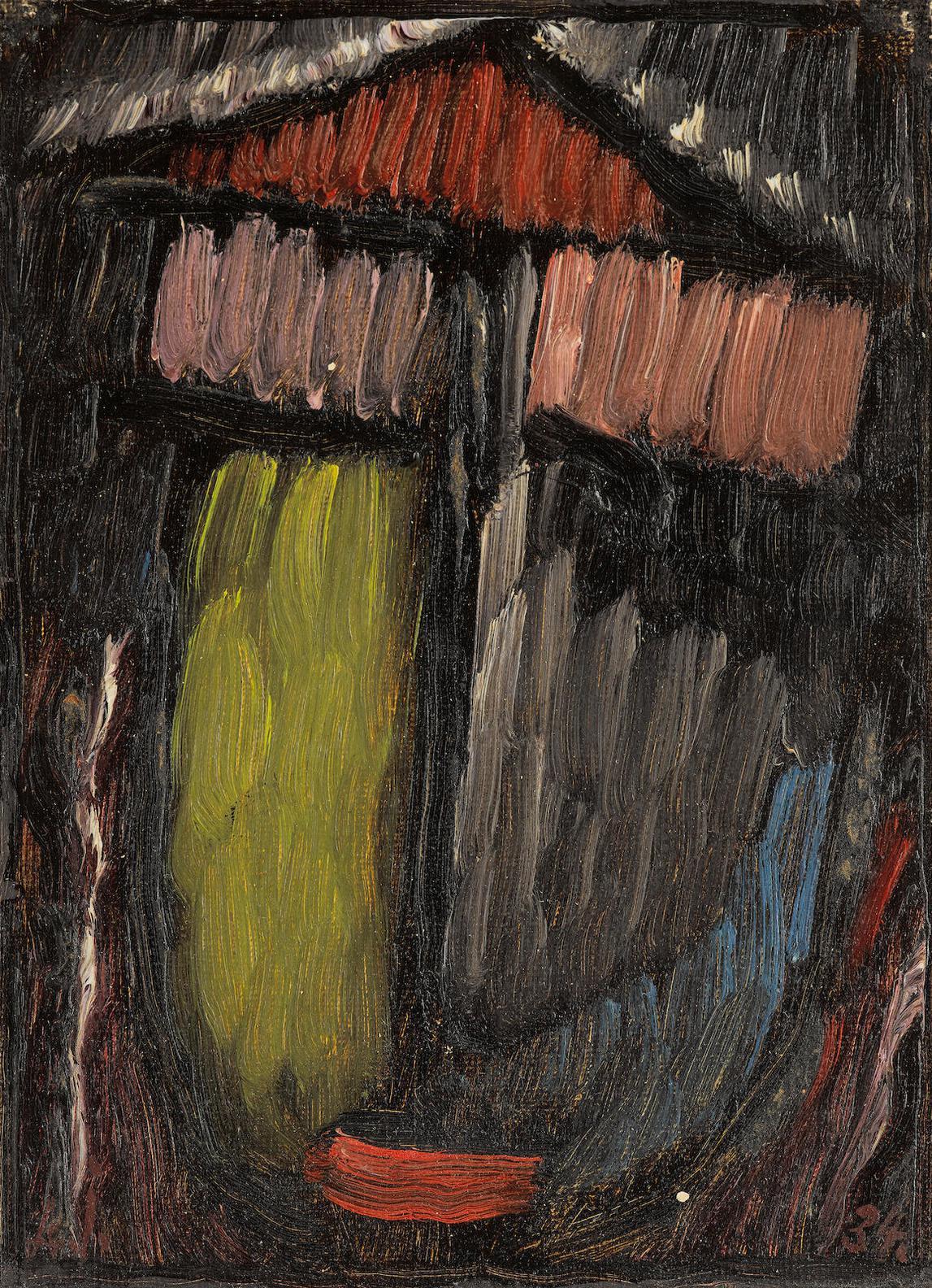 Alexej von Jawlensky-Meditation-1934