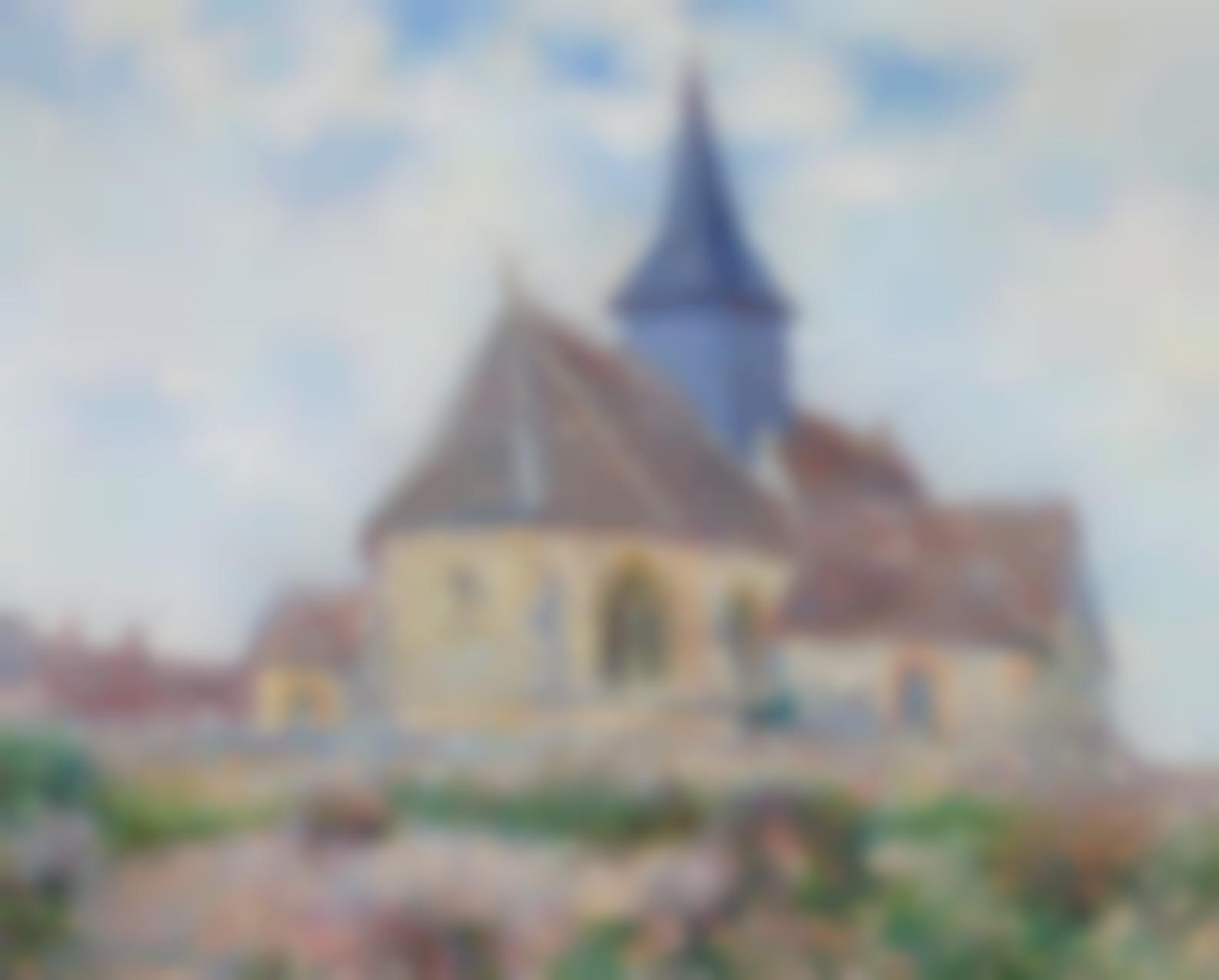Gustave Loiseau-Leglise De Porte-Joie Dans Leure-1901