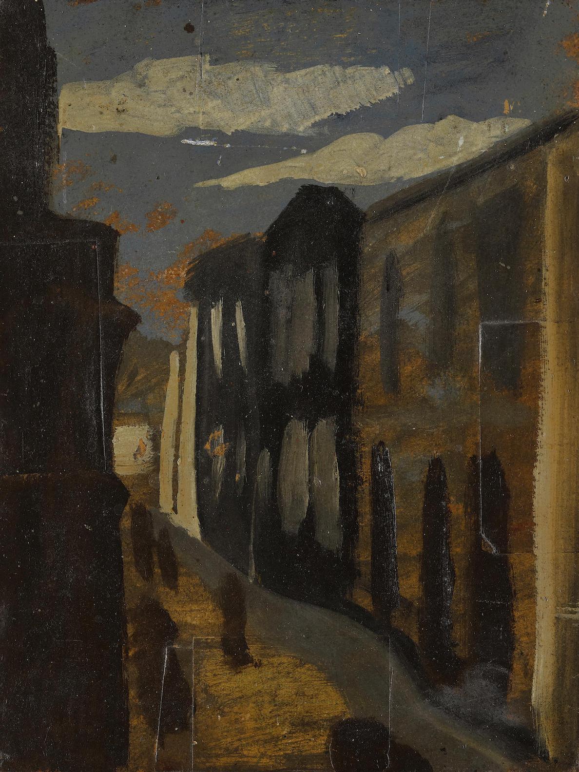 Man Ray-Scene De Rue-1952