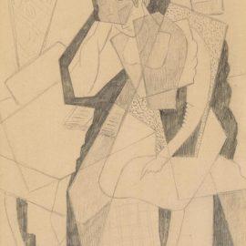Gino Severini-Femme Lisant-1915