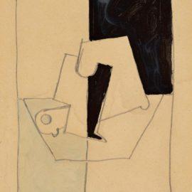 Pablo Picasso-Composition A Loiseau Mort-1918