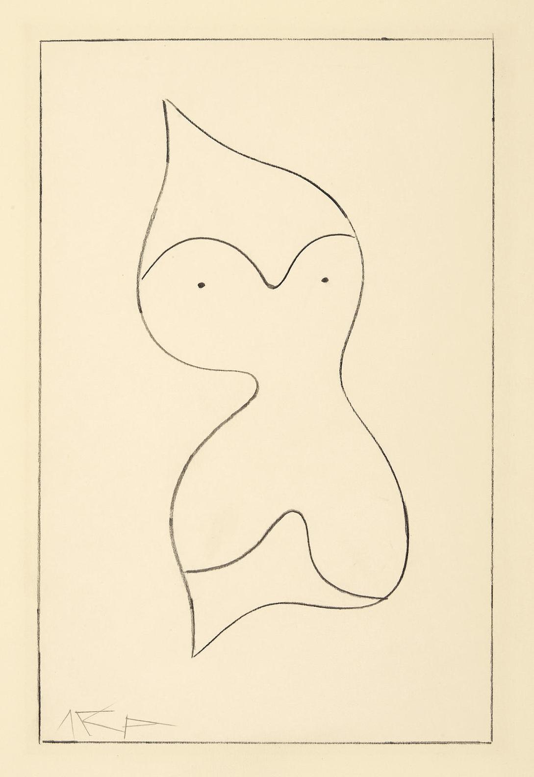 Jean Arp-Torse-Regard-1959