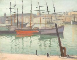 Albert Marquet-Le Port De Marseille-1916