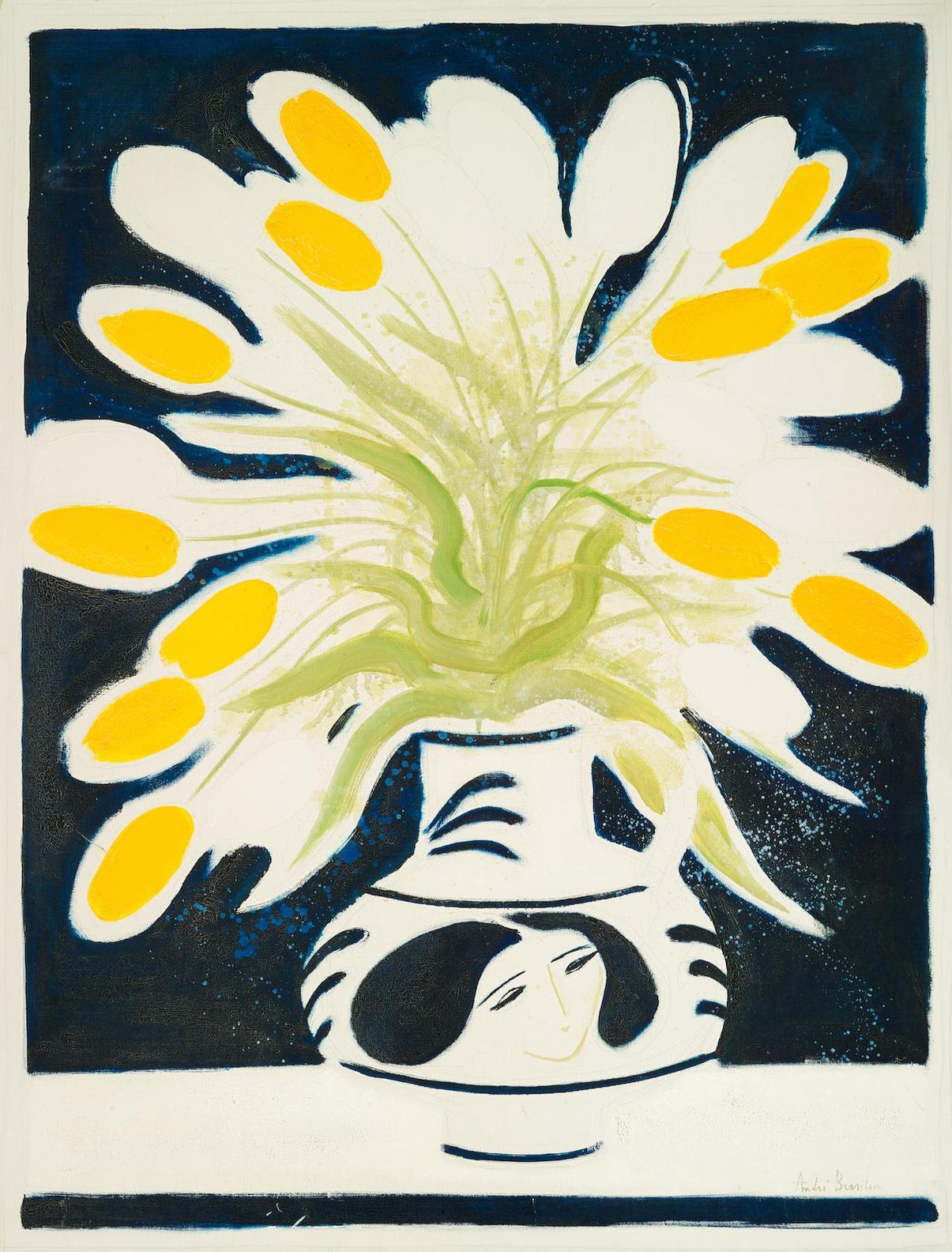 Andre Brasilier-Le Bouquet De Chantal-1972