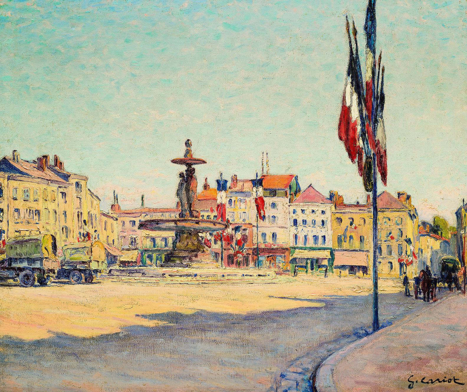 Gustave Cariot-Matin Du 14 Juillet 1920 A Chalons Sur Marne-1920