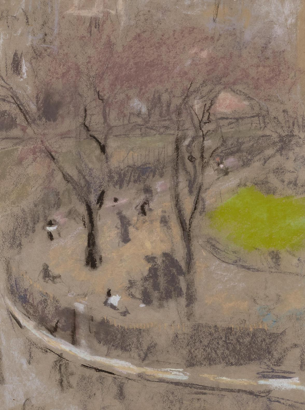 Edouard Vuillard-Vue De La Place-1910