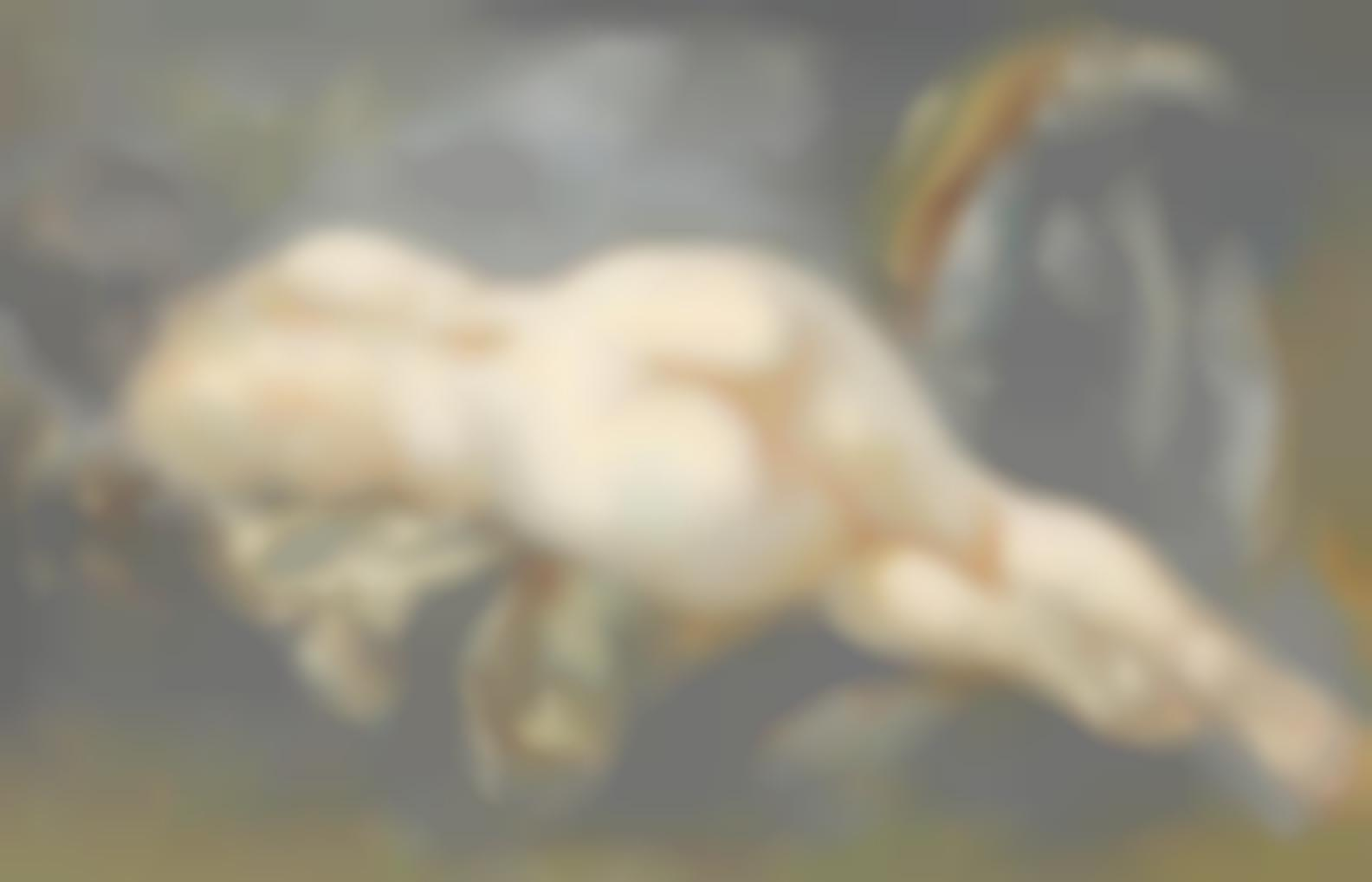 George Grosz-Reclining Nude-1940