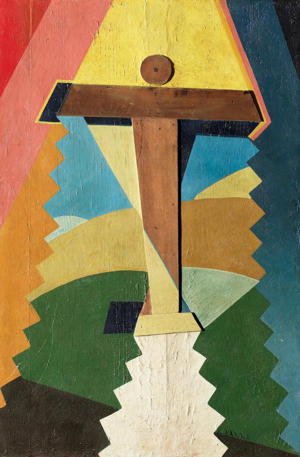 Giulio D'Anna-Aereo In Ascensione-1929