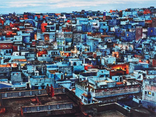 Steve McCurry-Blue City, Jodhpur, India-2010