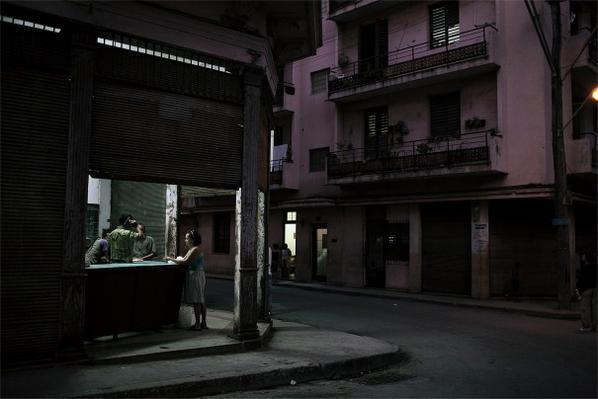 Jerome Sessini - Rationing Store - La Havana From Cuba In Suspense-2009