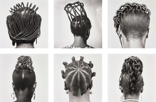 J. D. 'Okhai Ojeikere - Hairstyles-1975