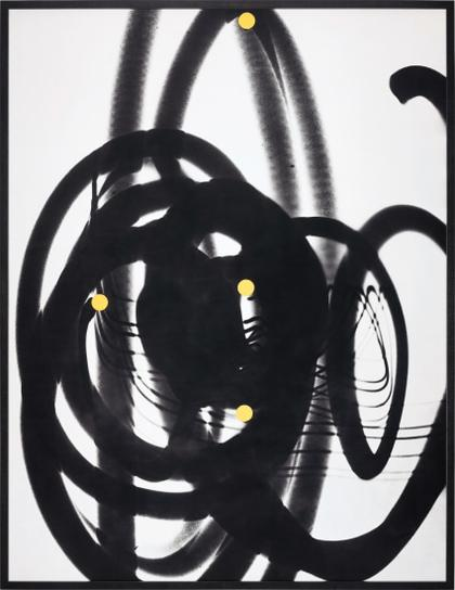 William Klein-Black Traces + 4 Yellow Pastilles-1953