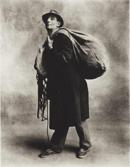 Irving Penn-Rag And Bone Man, London-1950
