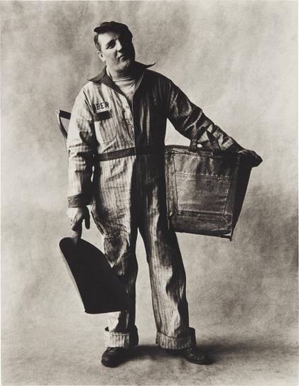 Irving Penn-Coal Man, New York-1951