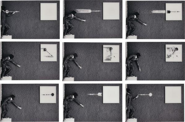 Robin Rhode-Throw Away-2010