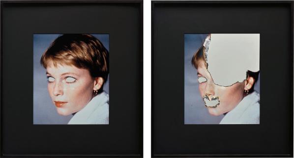 Douglas Gordon-Self-Portrait Of You And Me (Mia Farrow Diptych)-2006