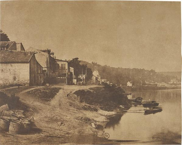 Henri-Victor Regnault - Sevres Et Les Environs, Bords De La Seine [Sevres And The Surroundings, Banks Of The Seine]-1853