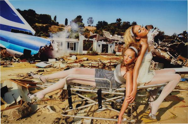 David LaChapelle-What Was Paradise Is Now Hell, New York-2005