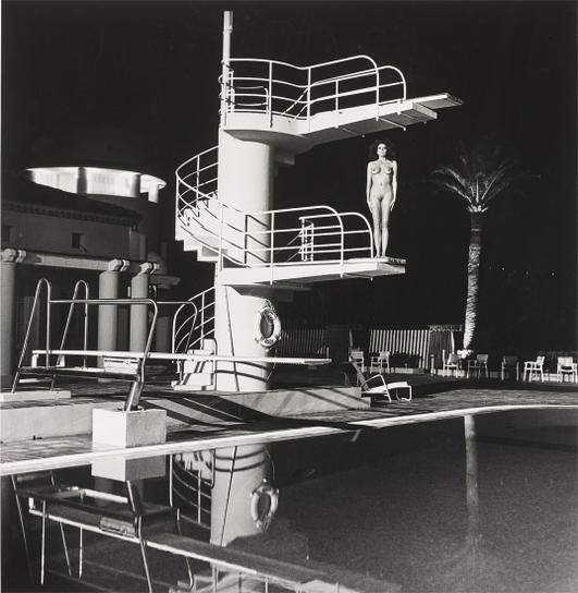 Helmut Newton-Diving Tower, Old Beach Hotel, Monte Carlo-1981