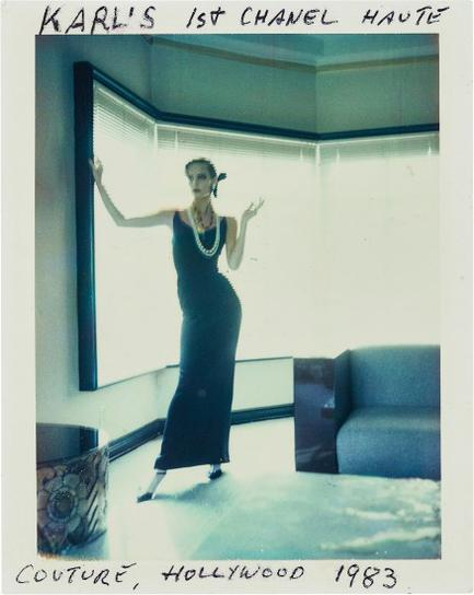 Helmut Newton-Karl Lagerfelds 1St Chanel Haute Couture, Hollywood-1983