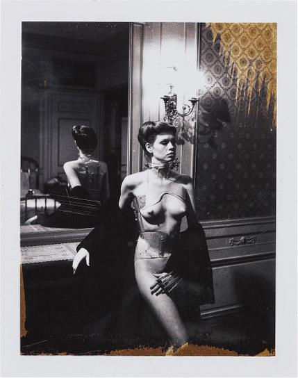 Helmut Newton-Jane Kirby, Paris-1977
